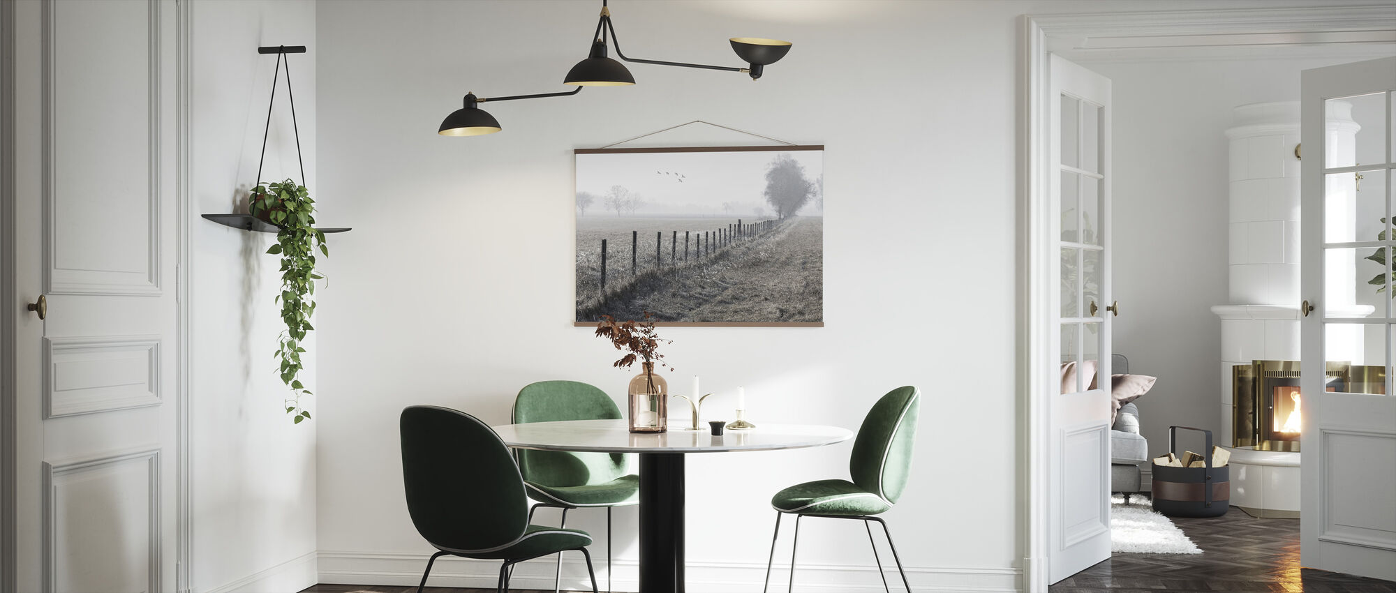 Foggy Morning - Poster - Kitchen
