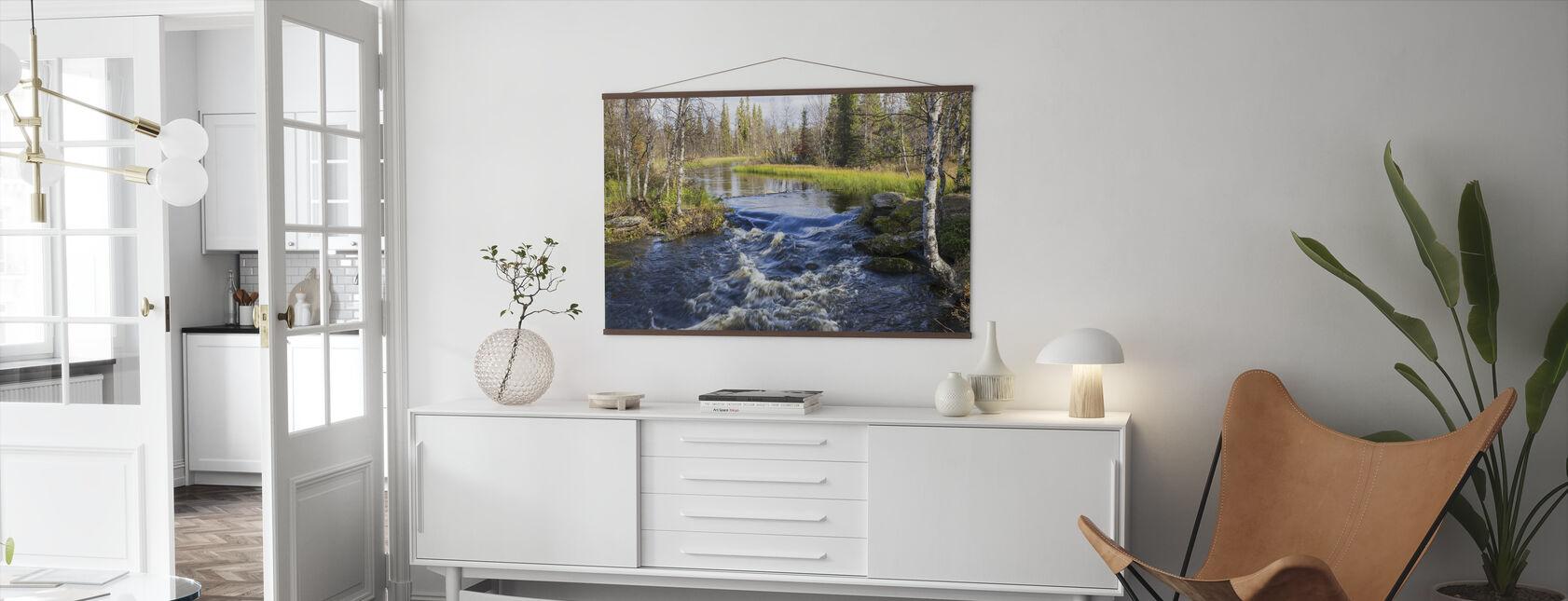 Lappland River - Plakat - Stue