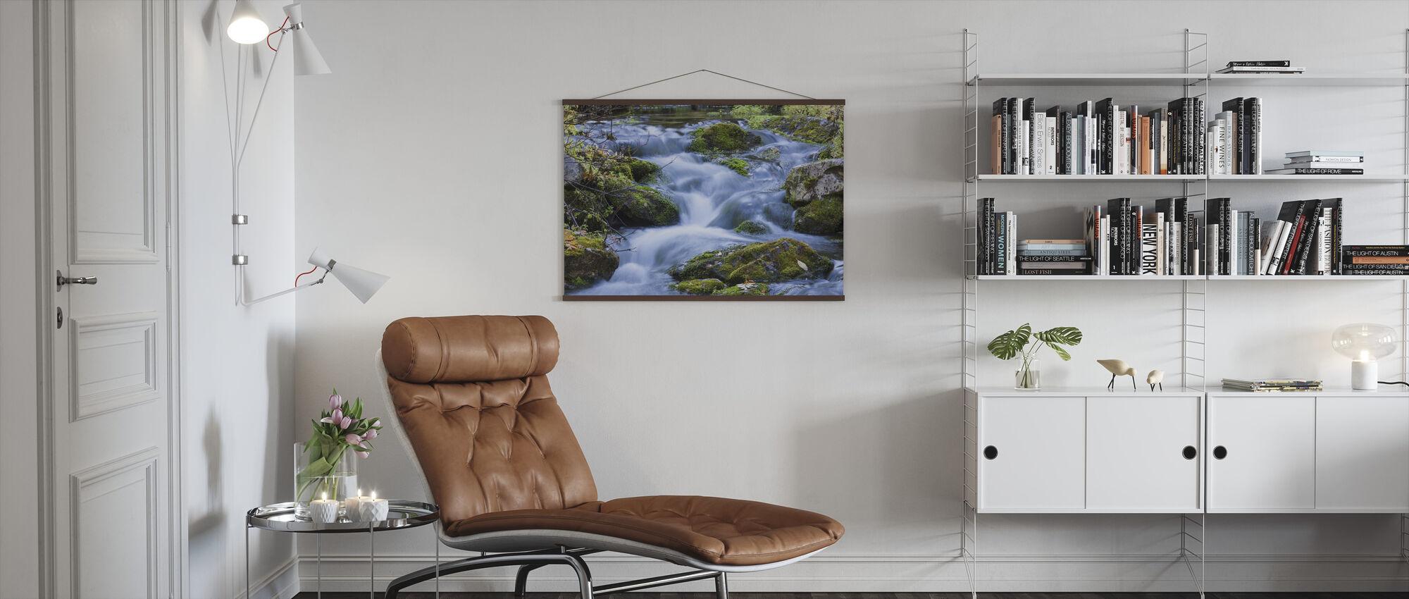 Little Stream - Poster - Living Room