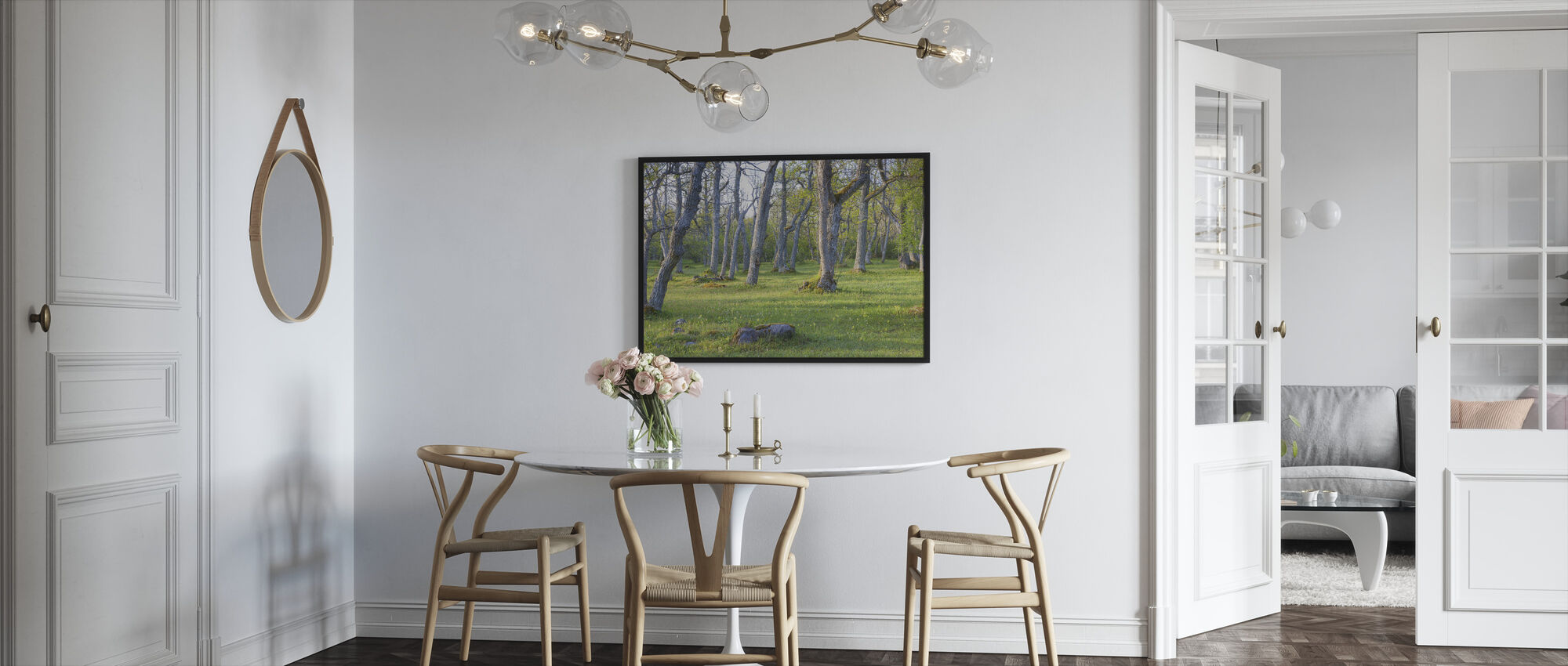 Meadow - Framed print - Kitchen