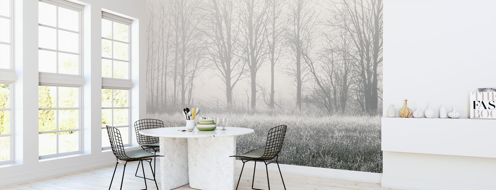 Misty Tree - Wallpaper - Kitchen