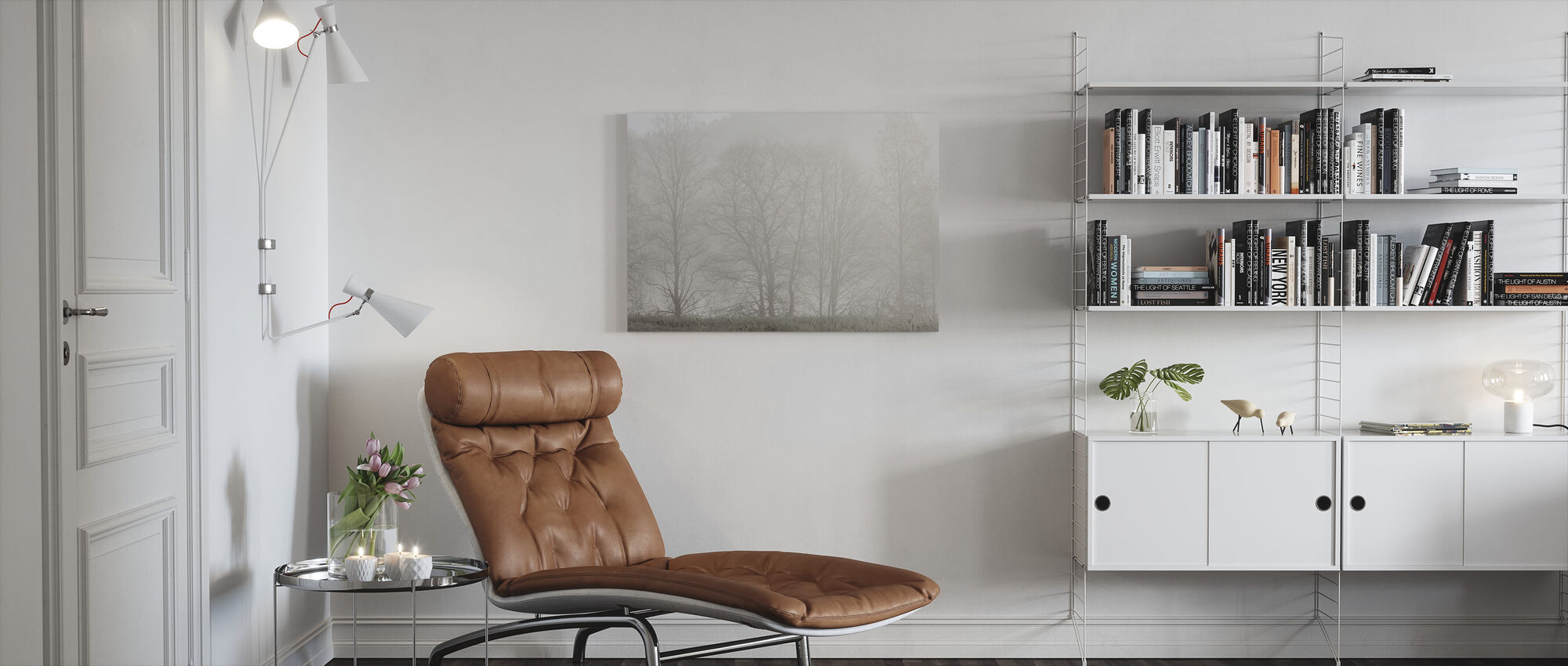 Mystery Morning - Canvas print - Living Room