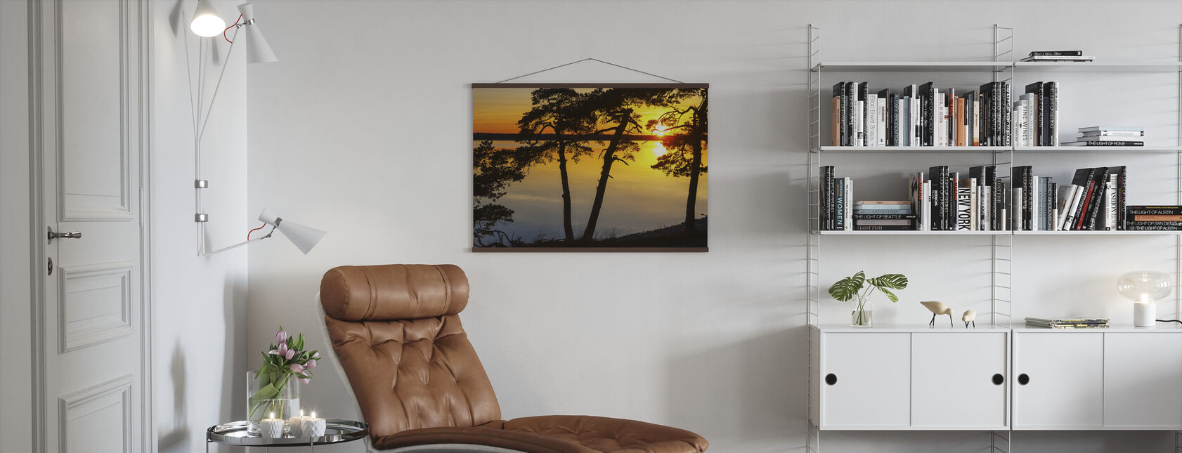 Sunset the Baltic Gotland - Poster - Living Room