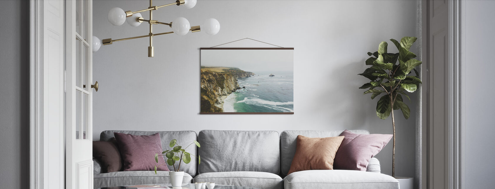 Big Sur, California - Poster - Living Room