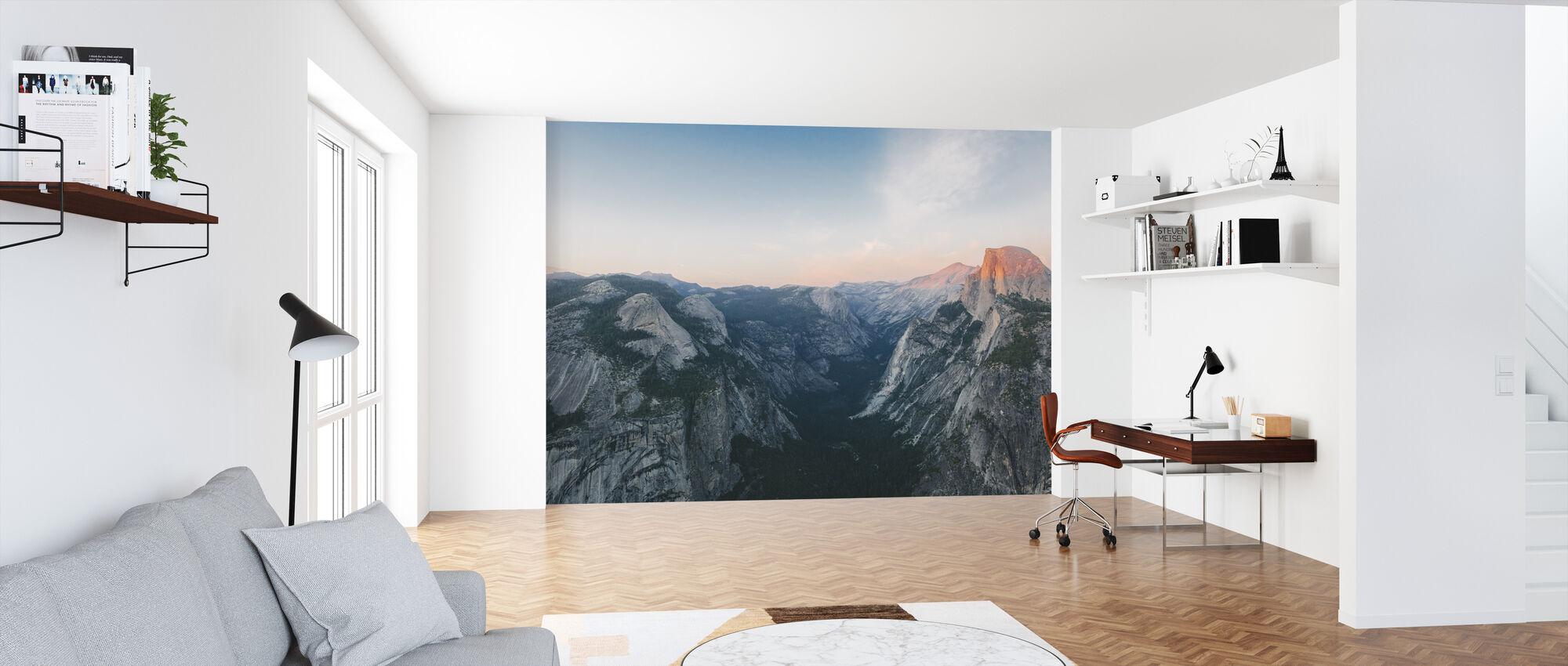Half Dome, Parque Nacional de Yosemite - Papel pintado - Oficina
