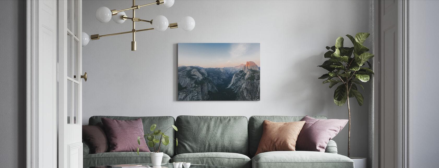 Half Dome, Park Narodowy Yosemite - Obraz na płótnie - Pokój dzienny