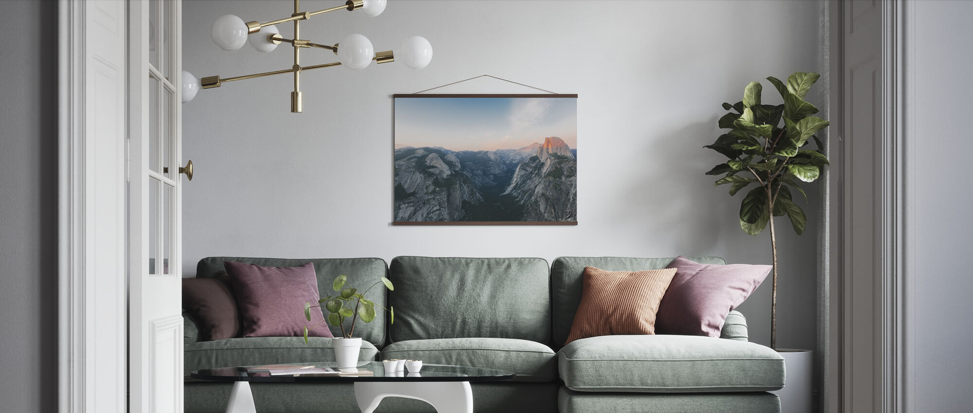 Half Dome, Yosemite National Park - Poster - Living Room