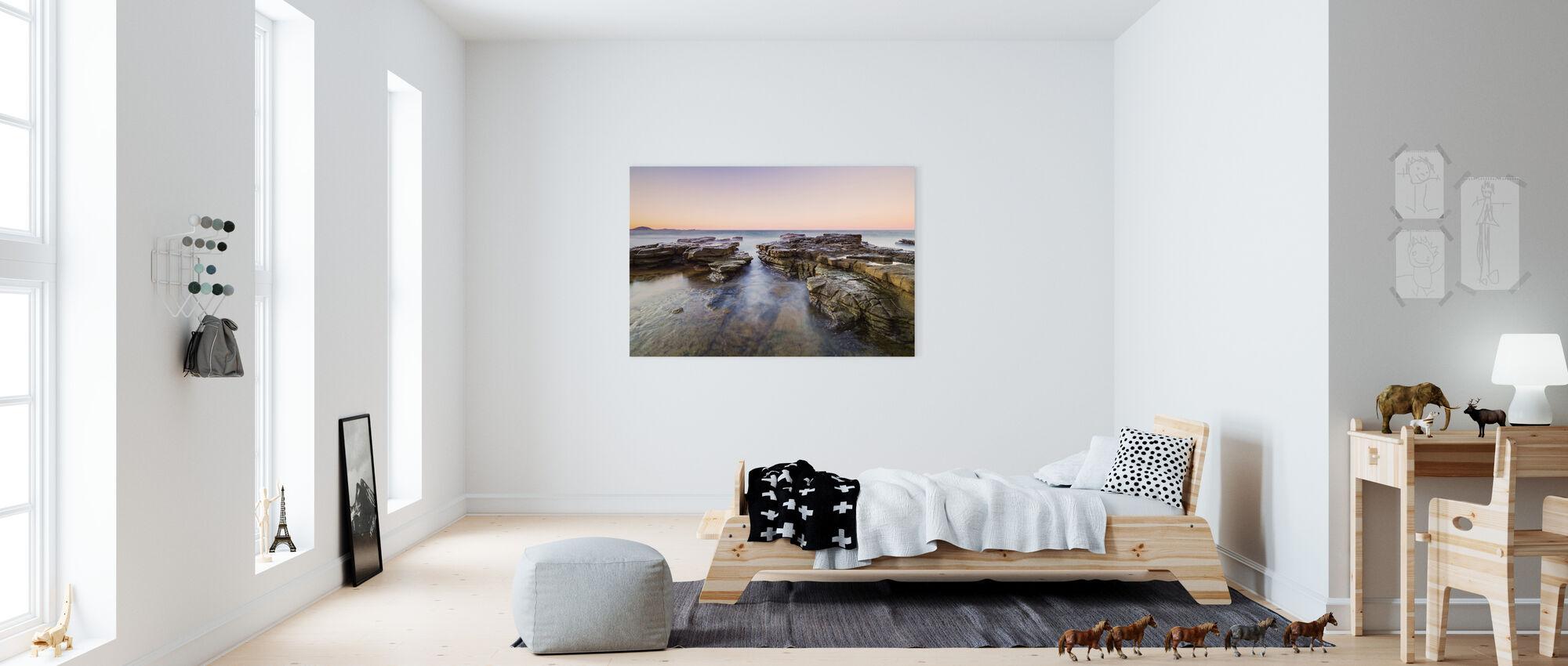 Mooloolaba Horizon, Queensland Australië - Canvas print - Kinderkamer