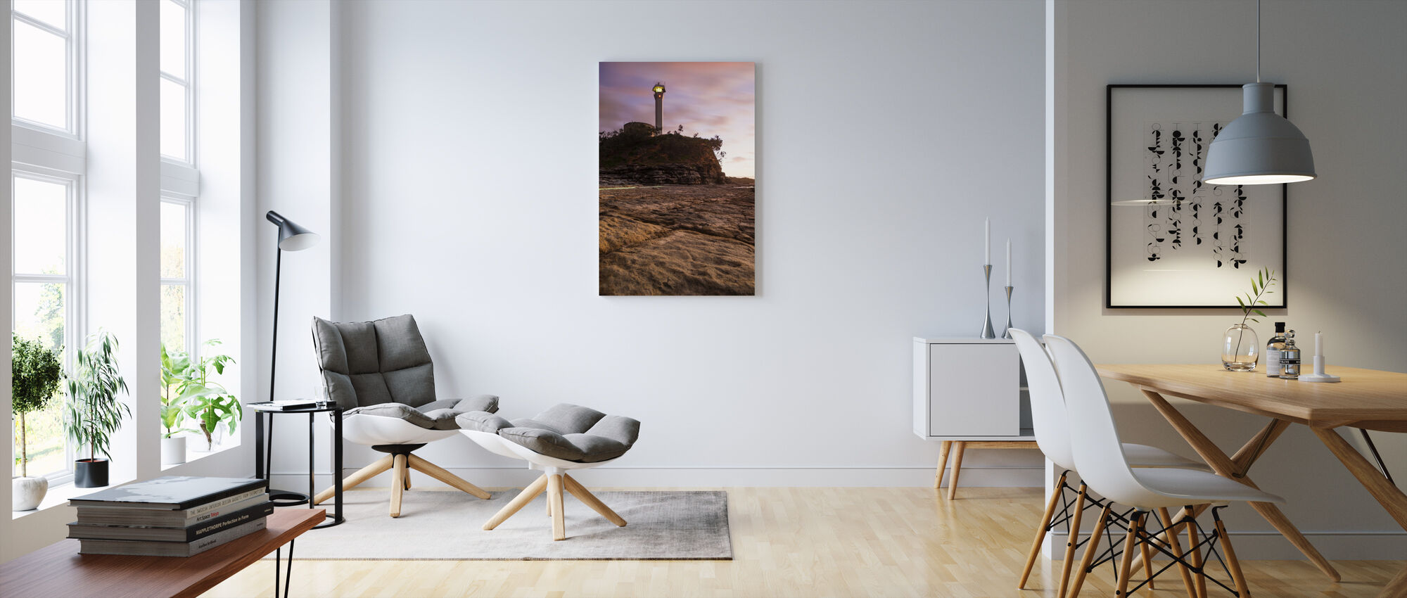 Mooloolaba Vuurtoren, Australië - Canvas print - Woonkamer