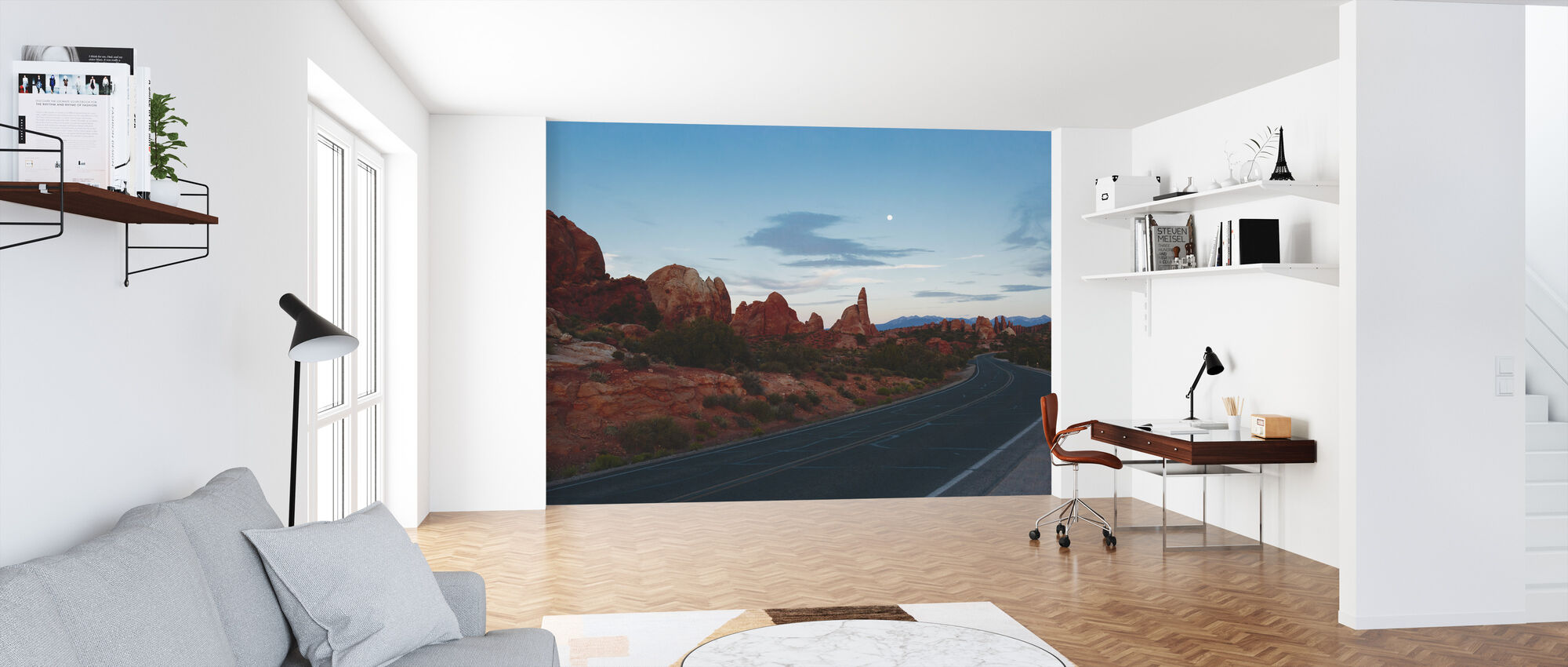 Road in Arches National Park - Wallpaper - Office