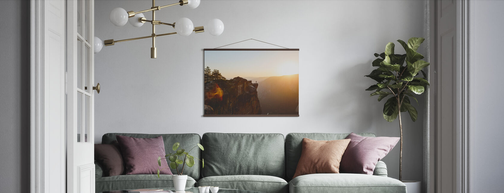 Taft Point, Yosemite National Park - Poster - Living Room