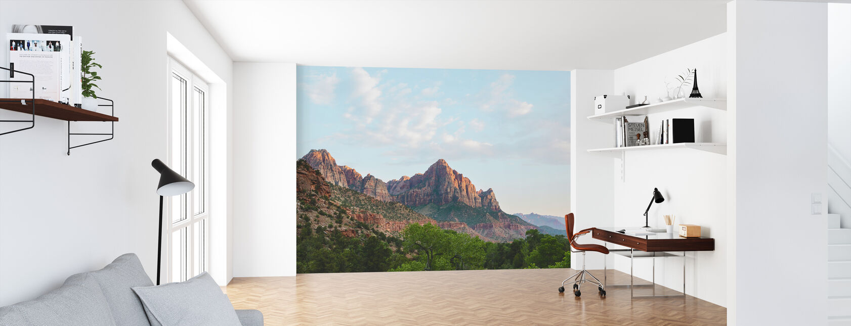 Zion National Park, Utah, USA - Wallpaper - Office