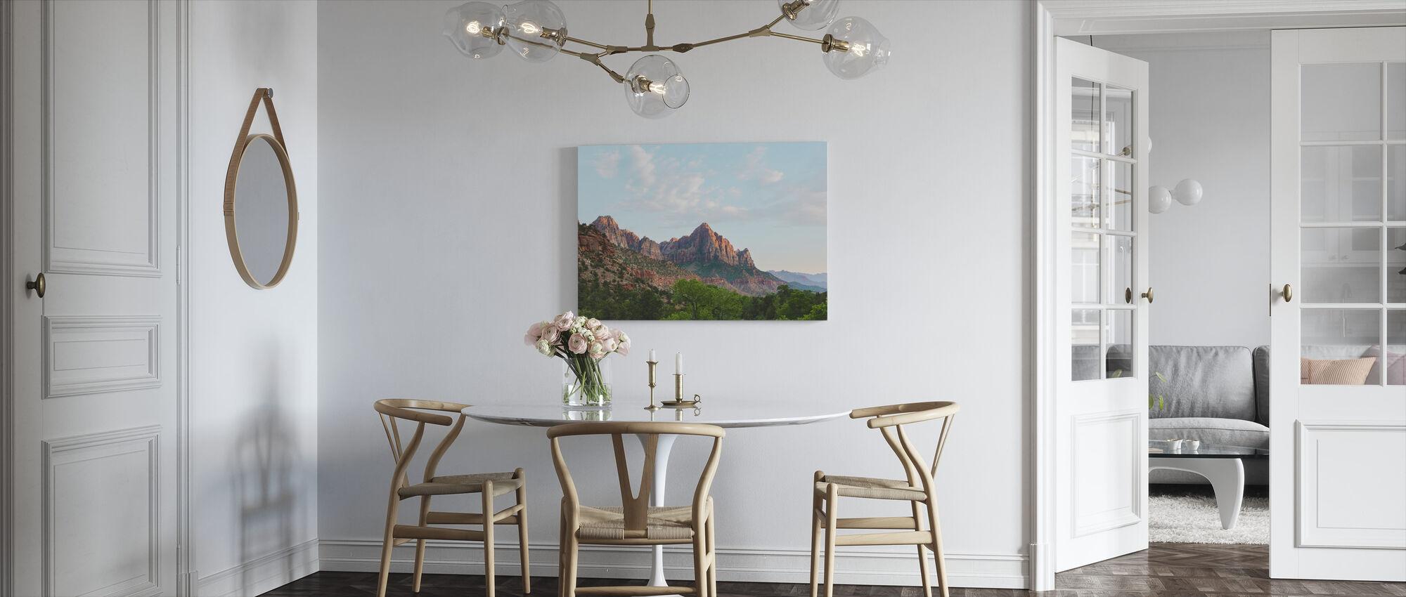 Zion National Park, Utah, USA - Canvas print - Kitchen