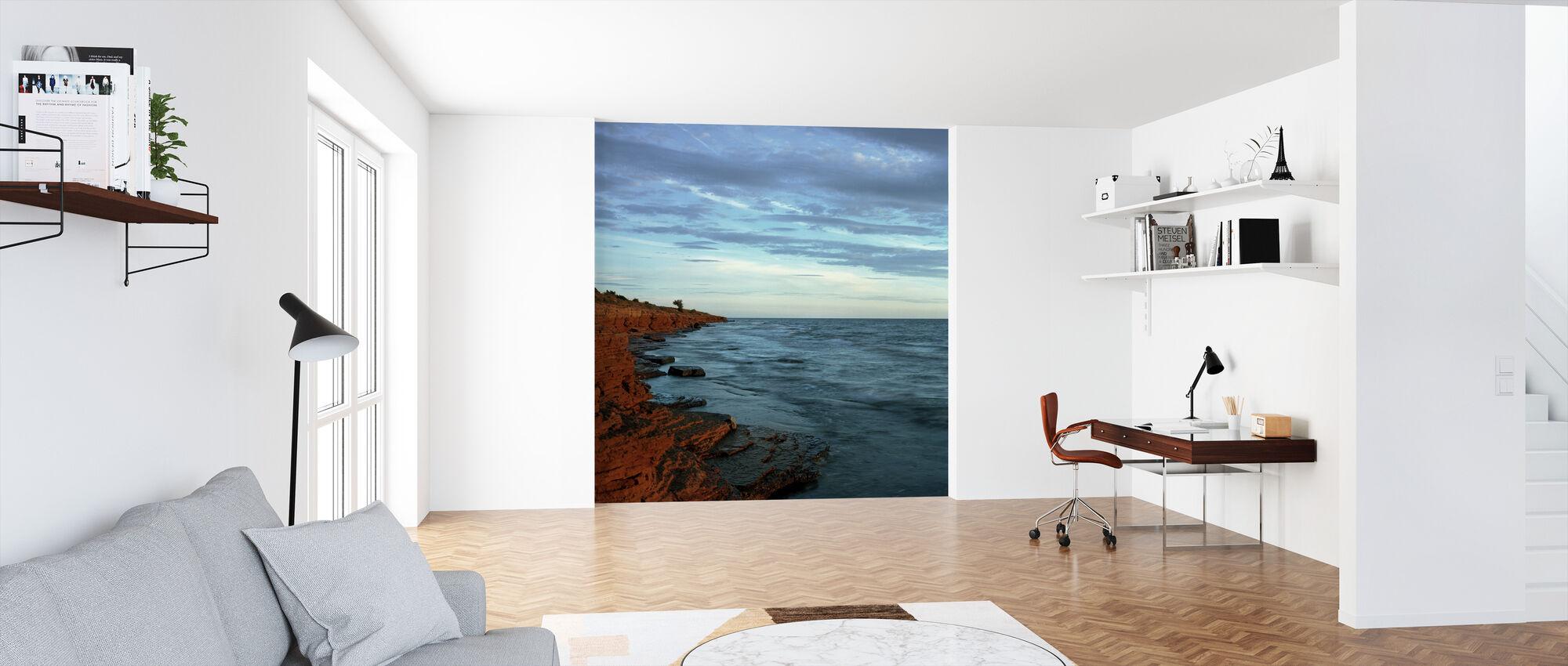 Byxelkrok Bay in Sweden - Wallpaper - Office
