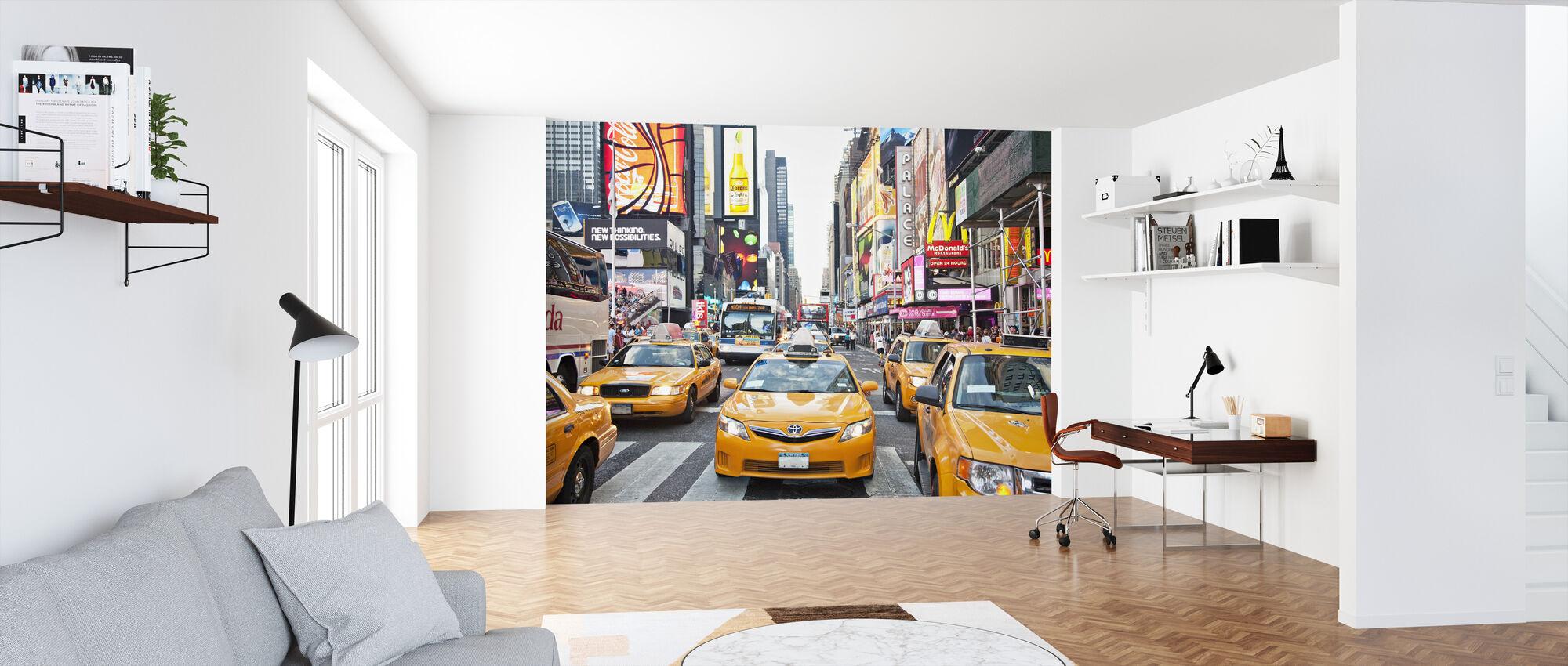 Taksit ja kapitalismi, New York - Tapetti - Toimisto