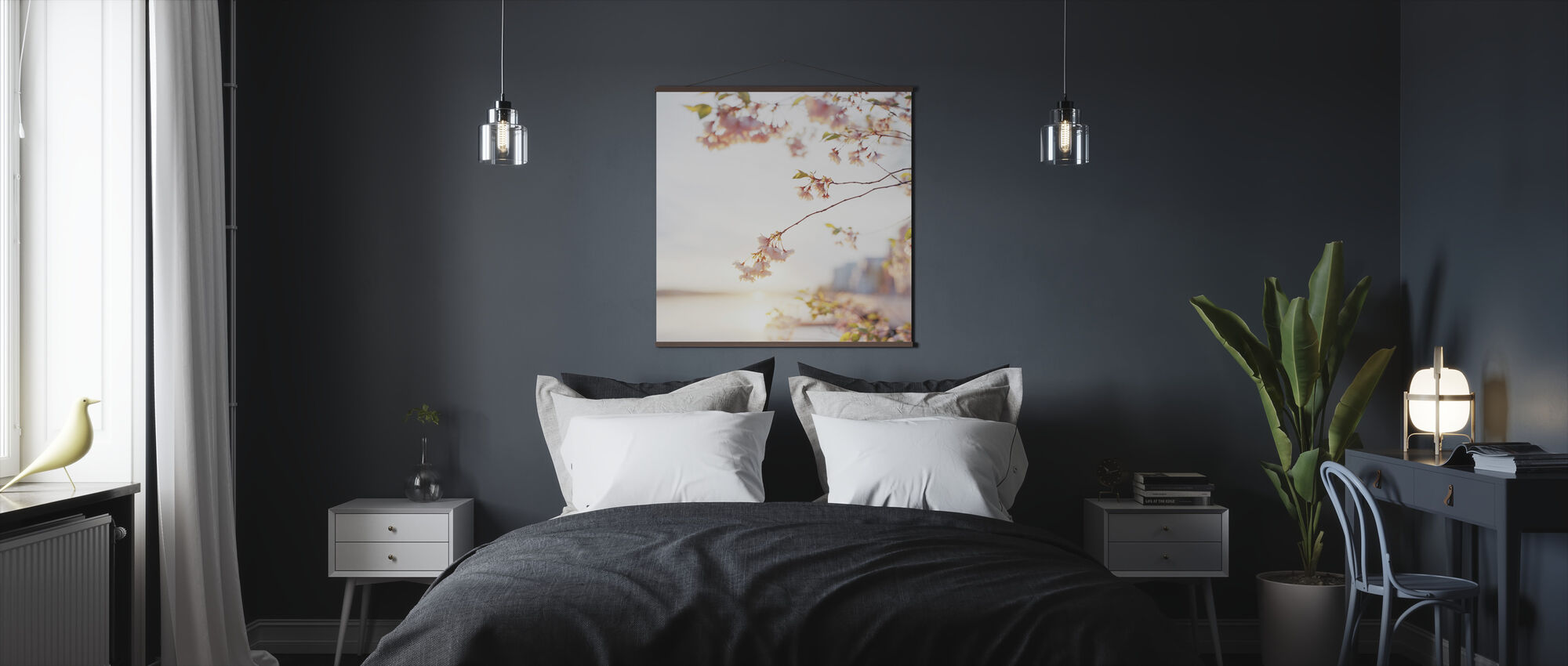 Fragile Blossoms - Poster - Bedroom