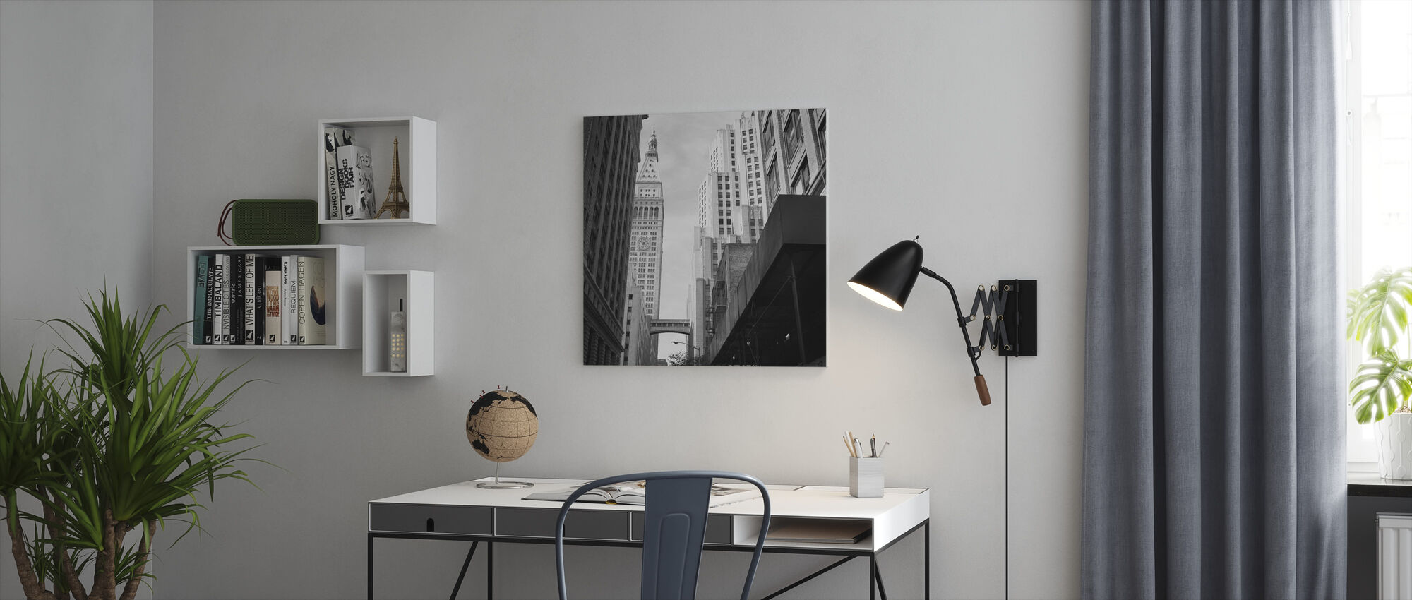 New York Time - Canvas print - Office
