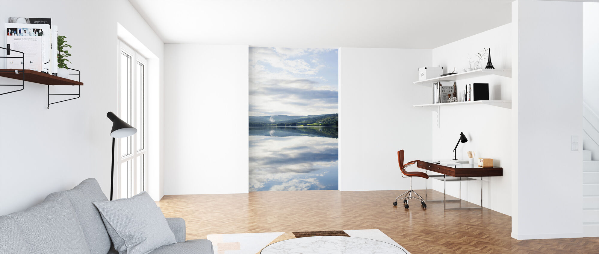 Norsk Lys - Tapet - Kontor