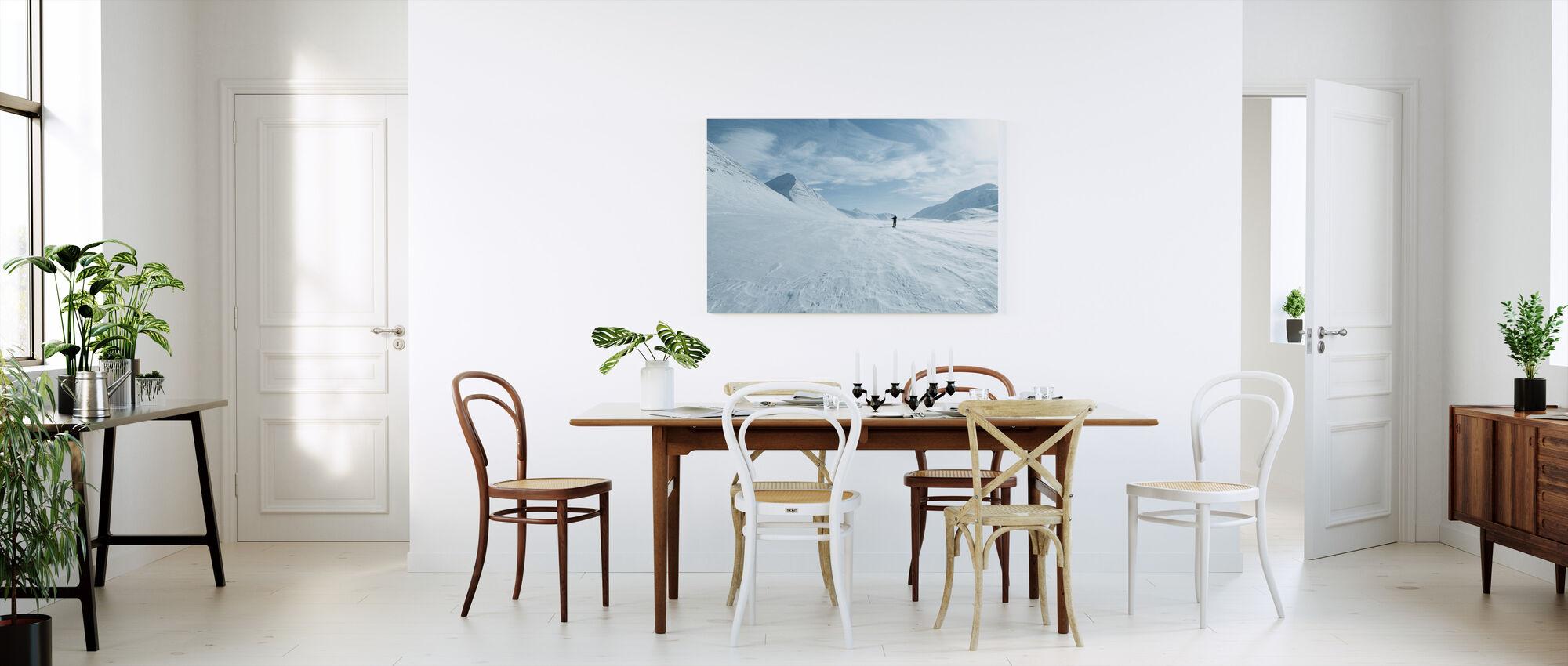 One Man Only - Canvas print - Kitchen