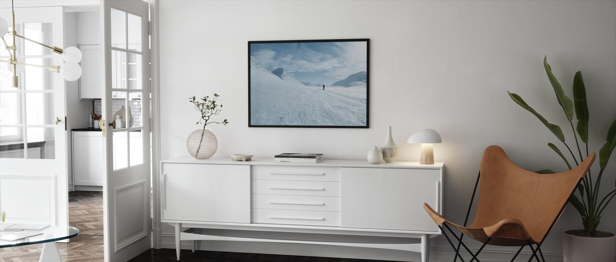 One Man Only - Framed print - Living Room