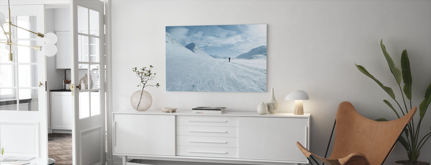 One Man Only - Canvas print - Living Room