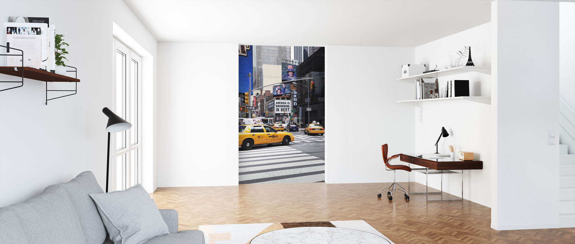 American Advertisement, New York - Wallpaper - Office