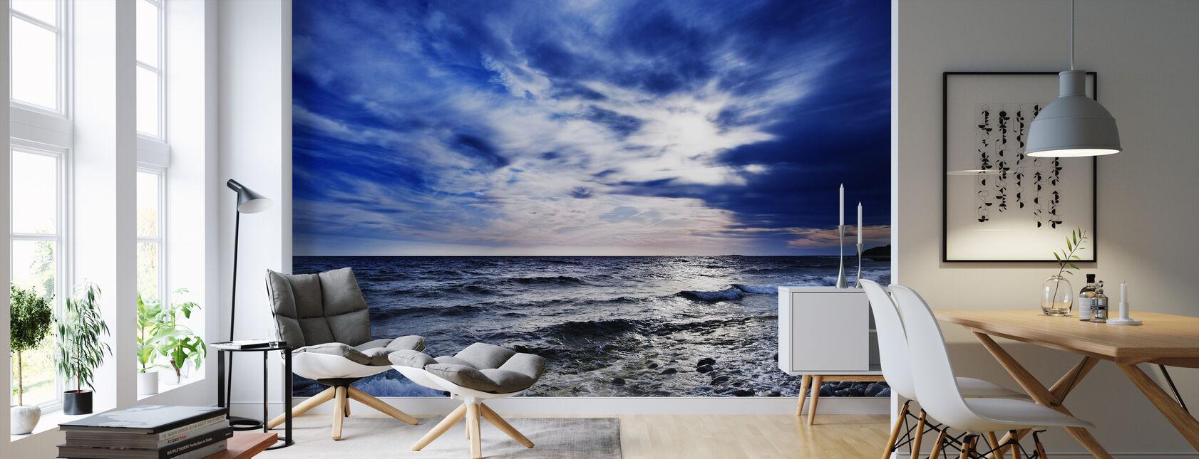 Blue Waves of Torö, Sweden - Wallpaper - Living Room