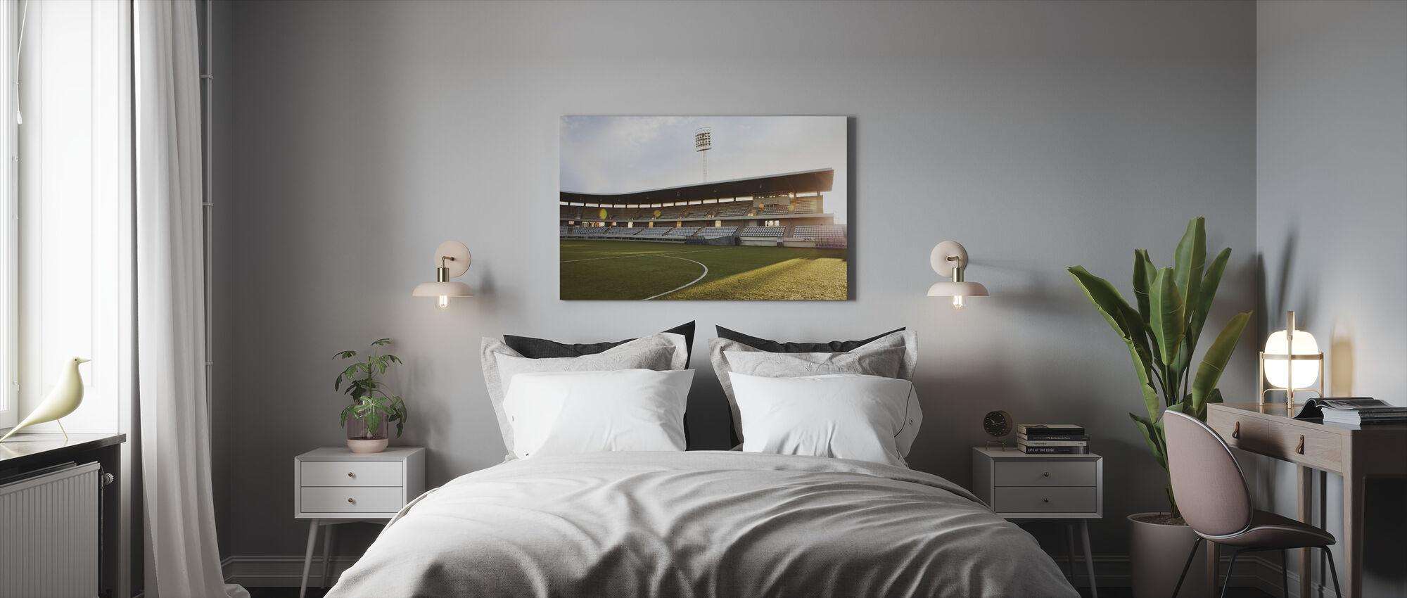 Soccer Field in Barcelona - Canvas print - Bedroom