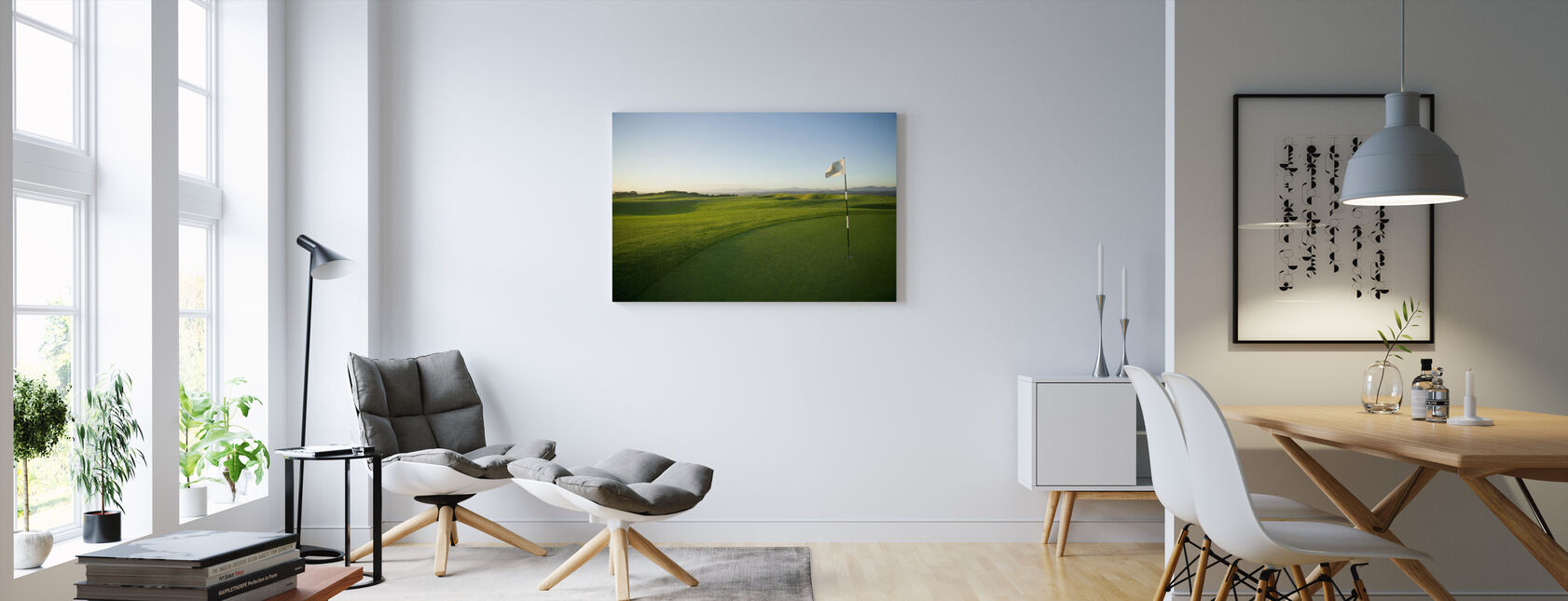 South African Golf Course - Canvas print - Living Room