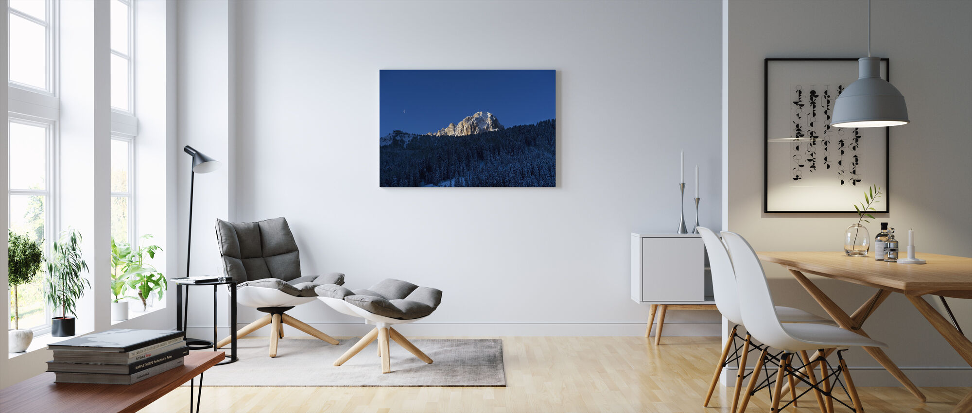 Val Gardena, Dolomites in Italy - Canvas print - Living Room