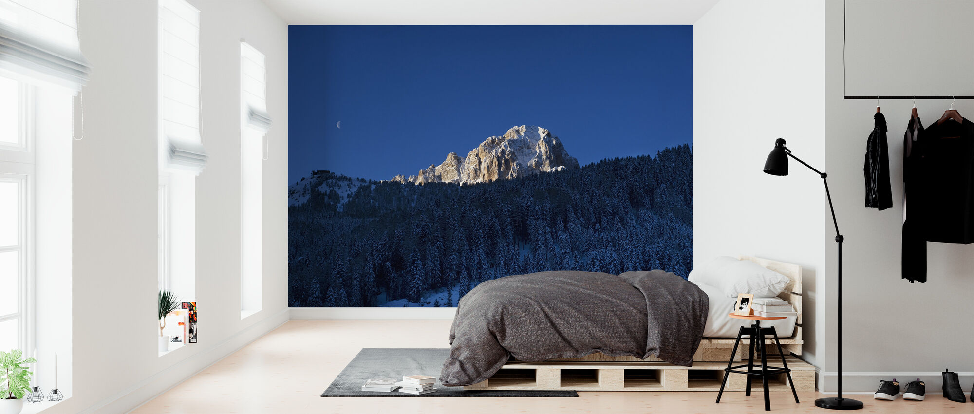 Val Gardena, Dolomites in Italy - Wallpaper - Bedroom