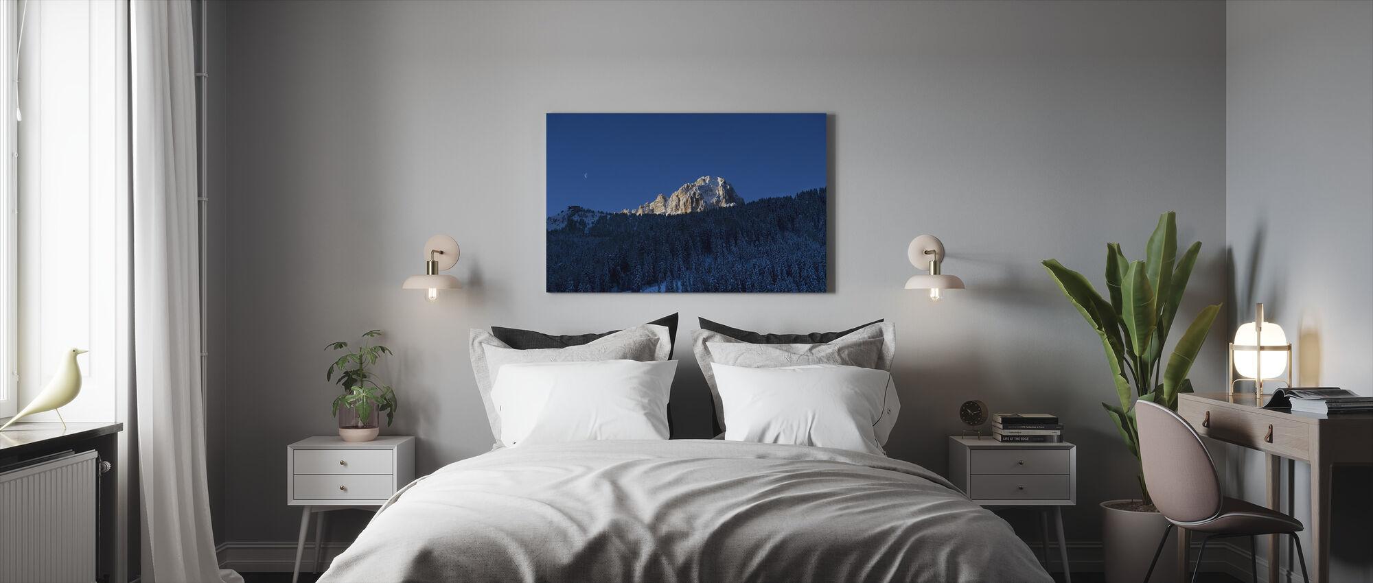 Val Gardena, Dolomites in Italy - Canvas print - Bedroom