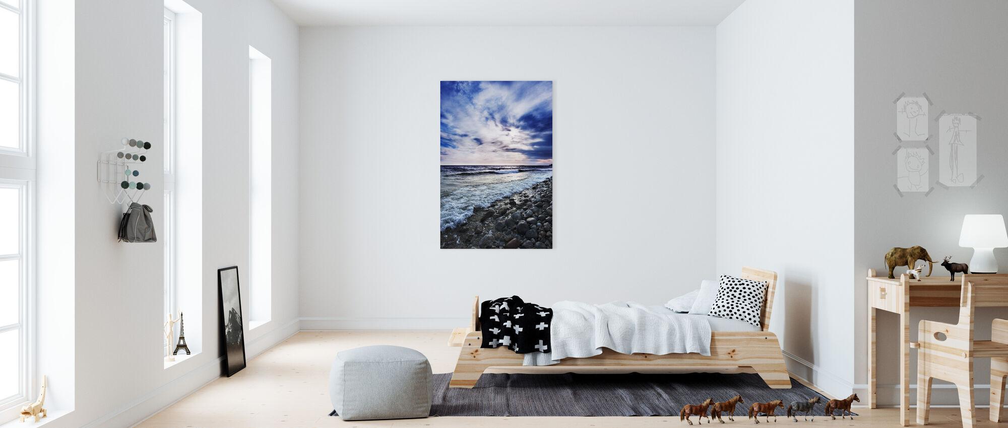 Waves of Torö, Sweden - Canvas print - Kids Room