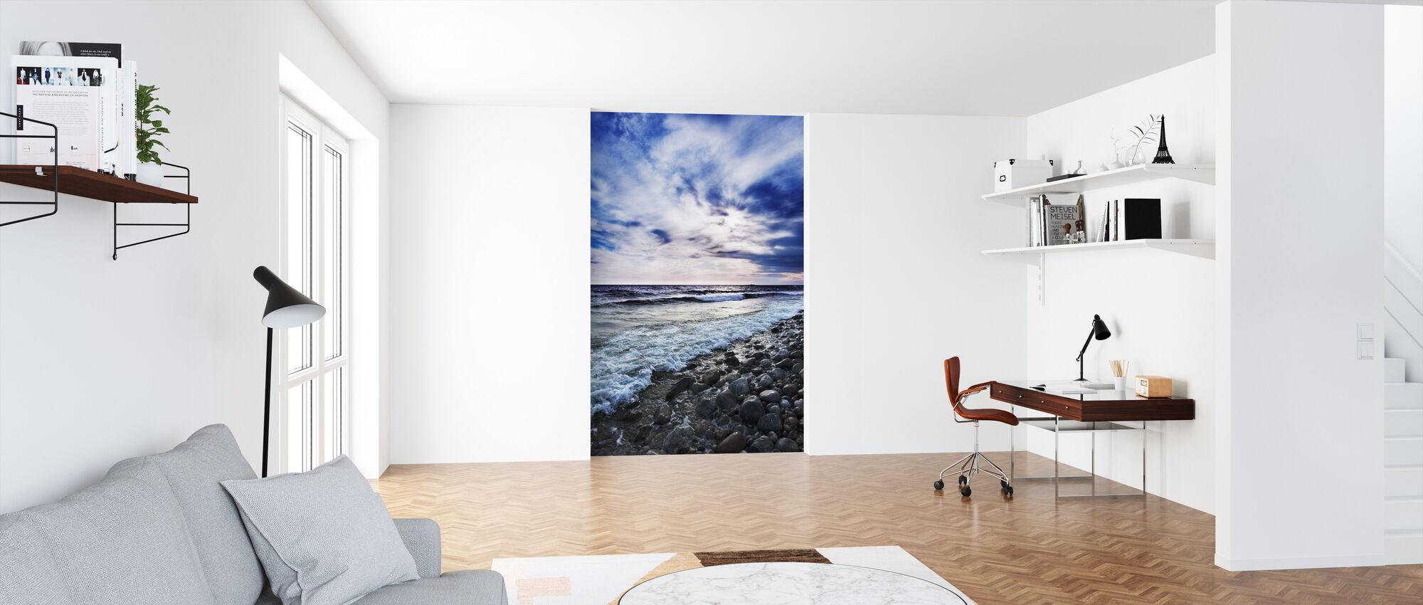 Waves of Torö, Sweden - Wallpaper - Office