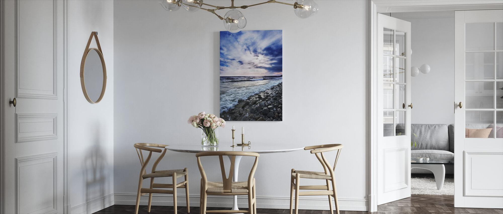 Waves of Torö, Sweden - Canvas print - Kitchen