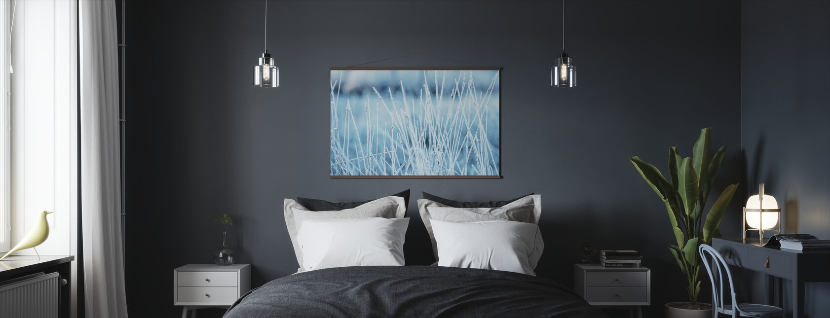 Winters Grass - Poster - Bedroom