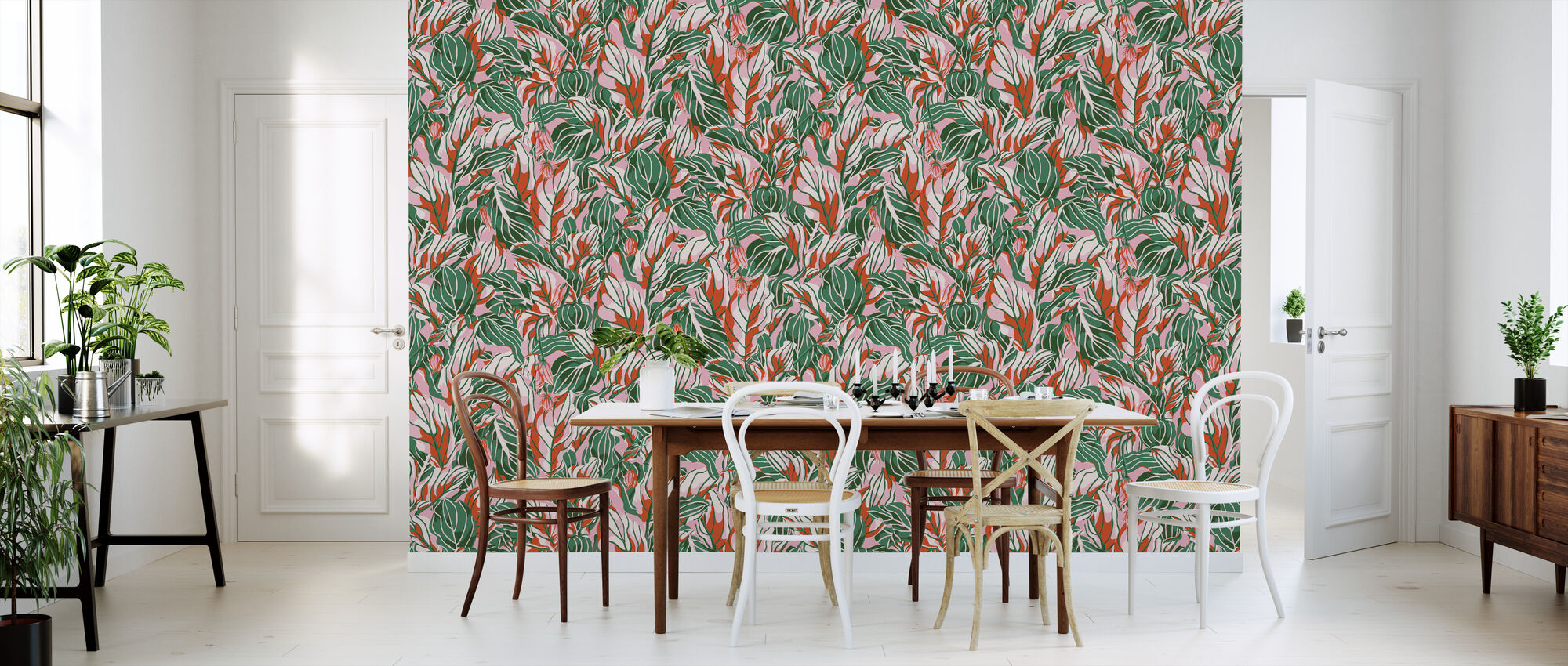Stunner Peachy - Wallpaper - Kitchen