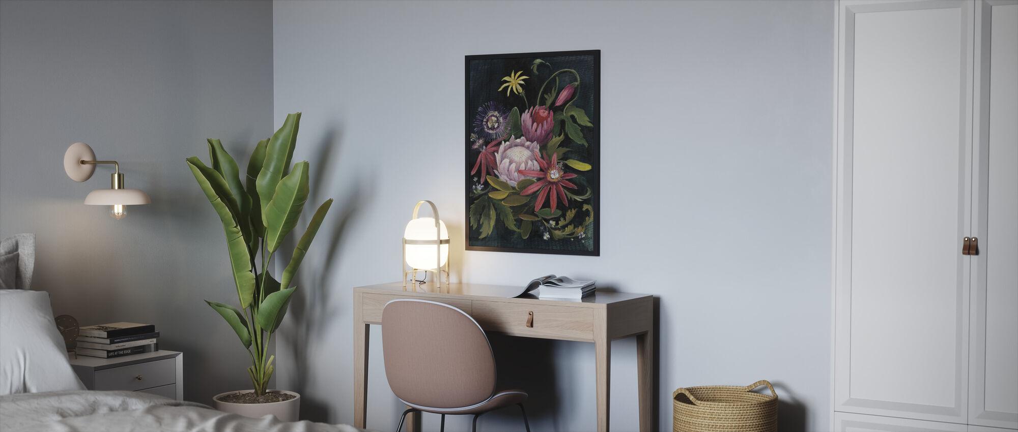 Flower Show II - Framed print - Bedroom
