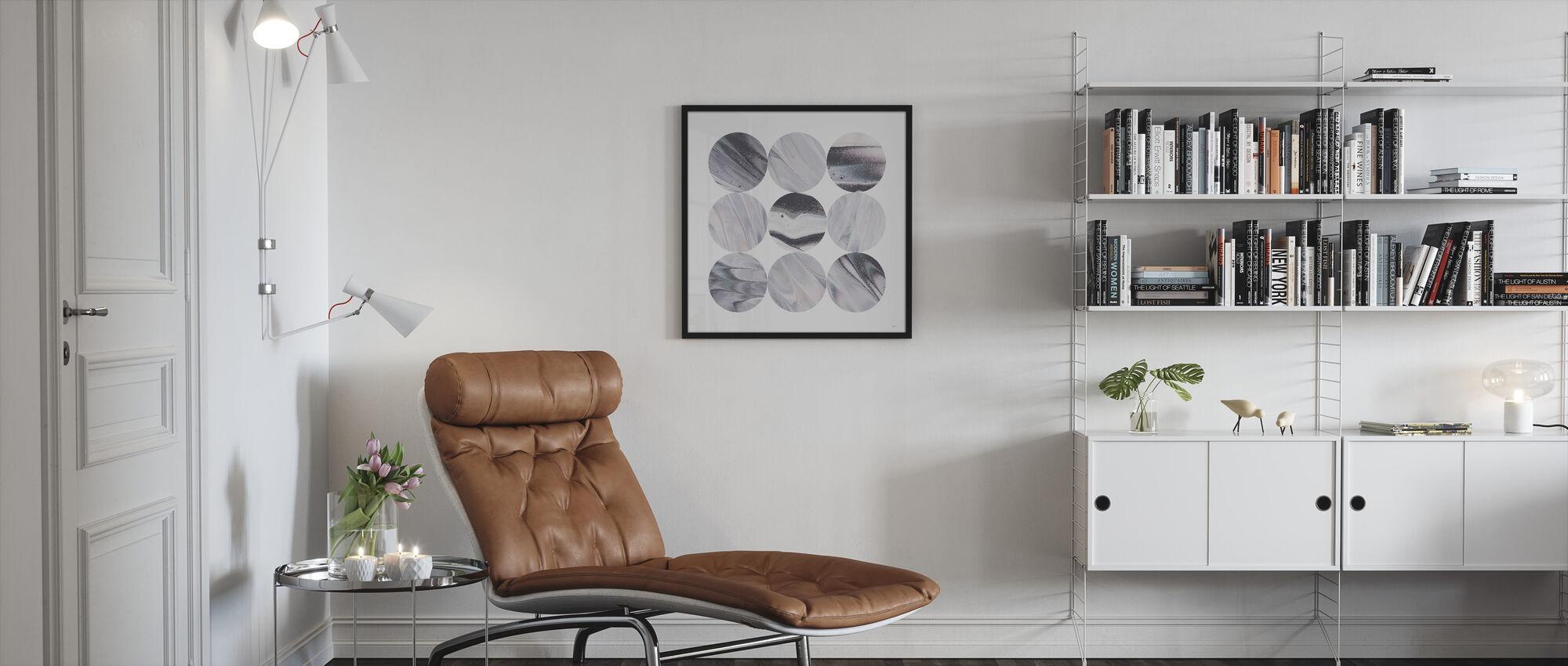 Dark Matter III - Framed print - Living Room