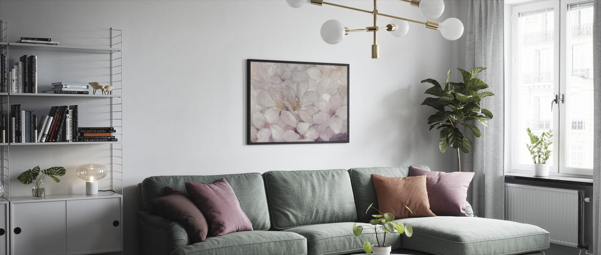 Apple Blossoms - Framed print - Living Room