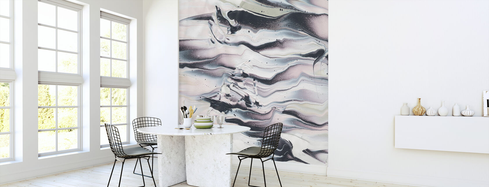 Marble Dreams - Wallpaper - Kitchen
