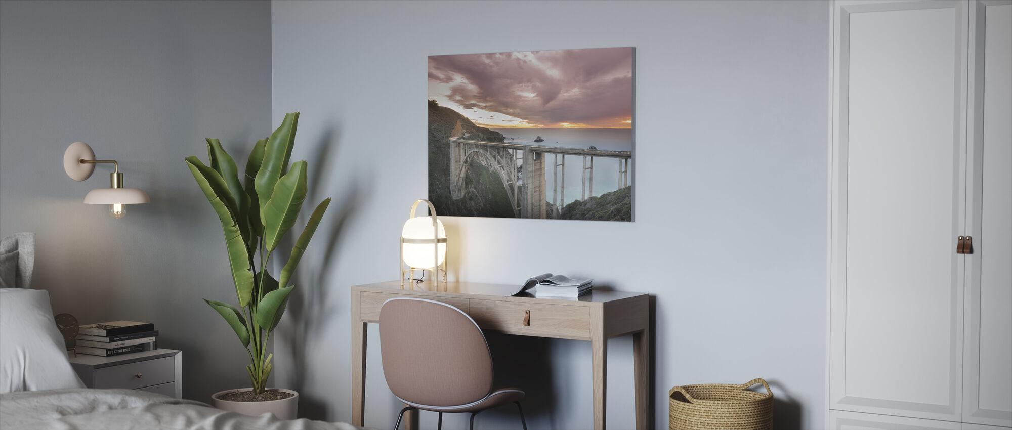 Big Little Bixby Brücke - Leinwandbild - Büro