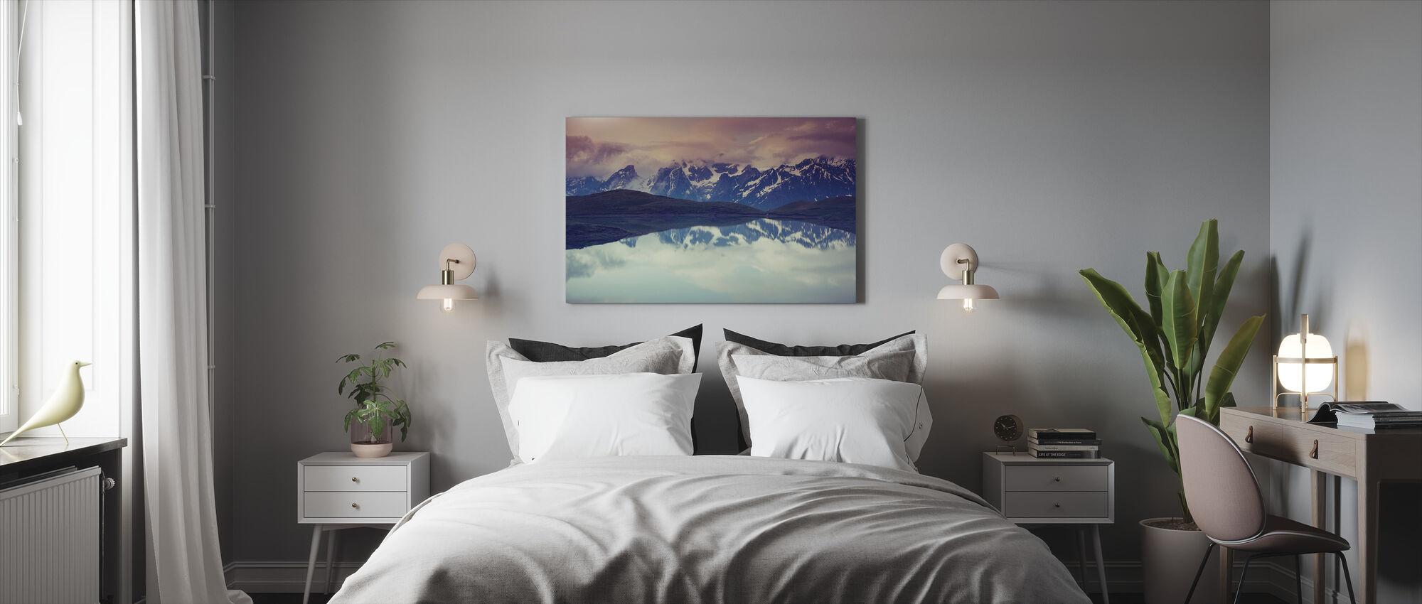 Kaukasus - Canvas print - Slaapkamer