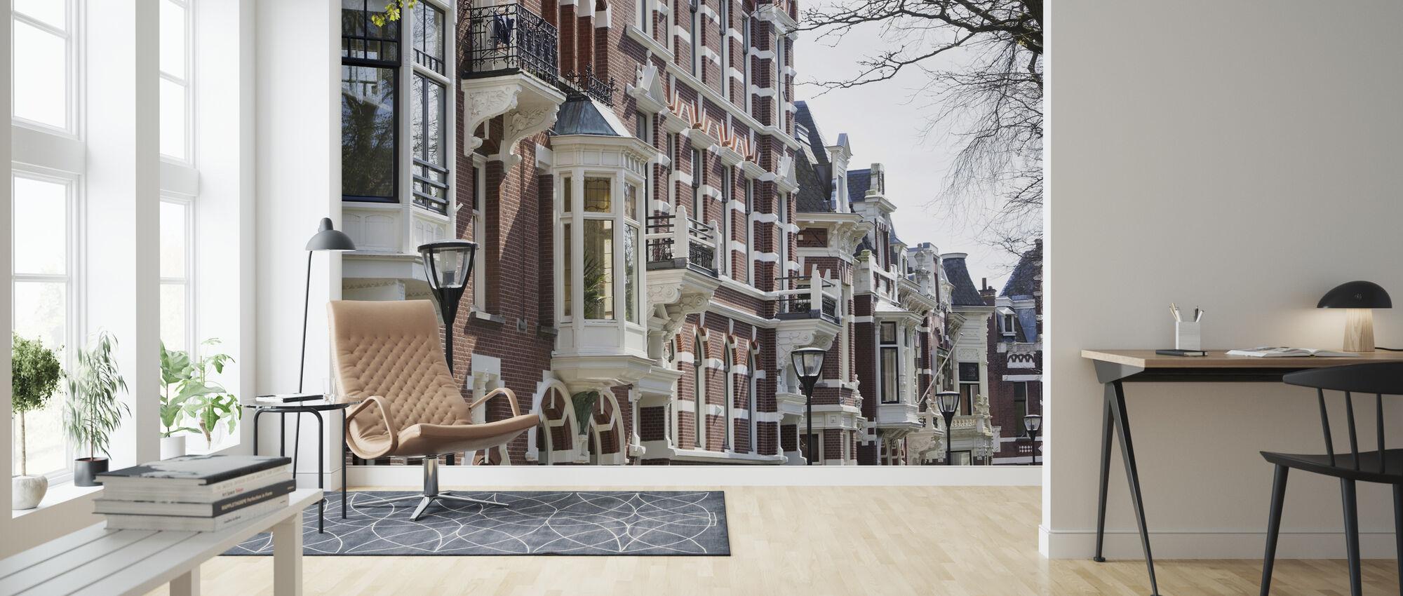 Kralingen in Rotterdam - Wallpaper - Living Room