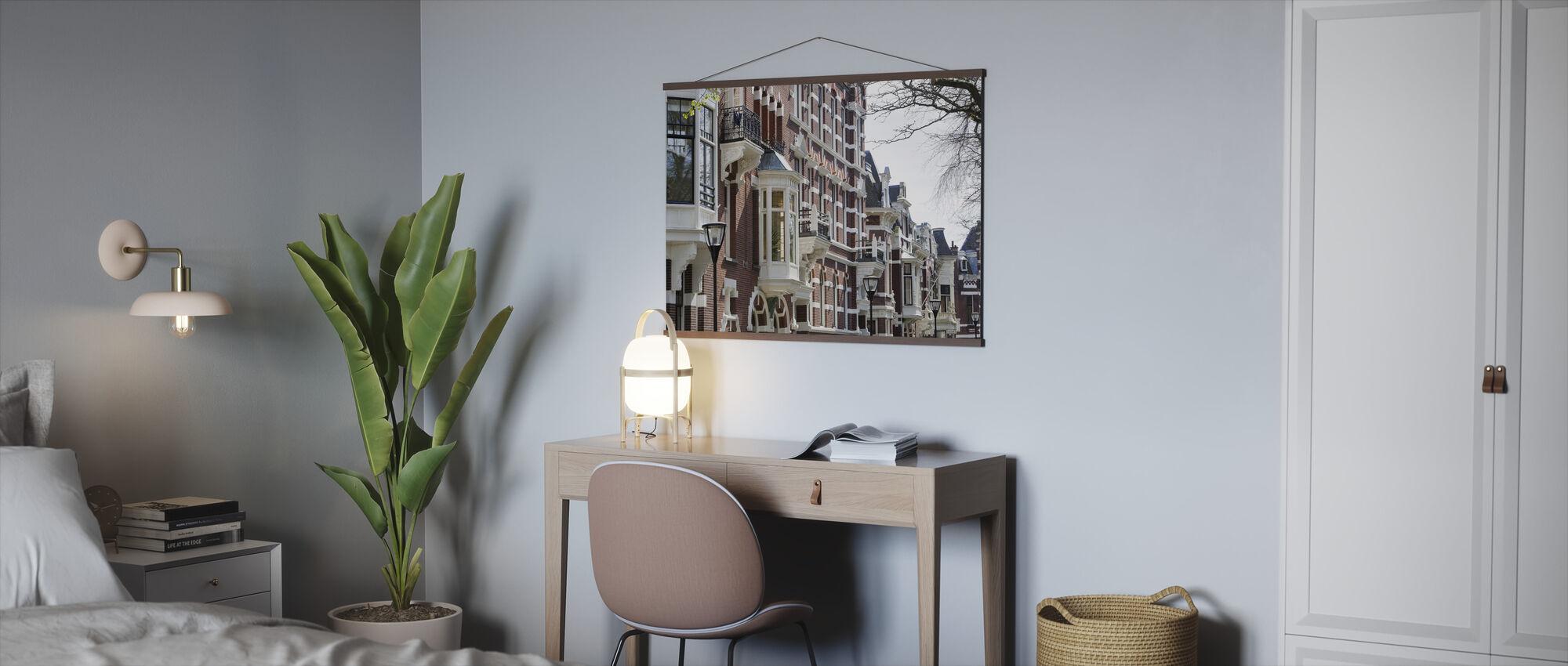 Kralingen in Rotterdam - Poster - Office