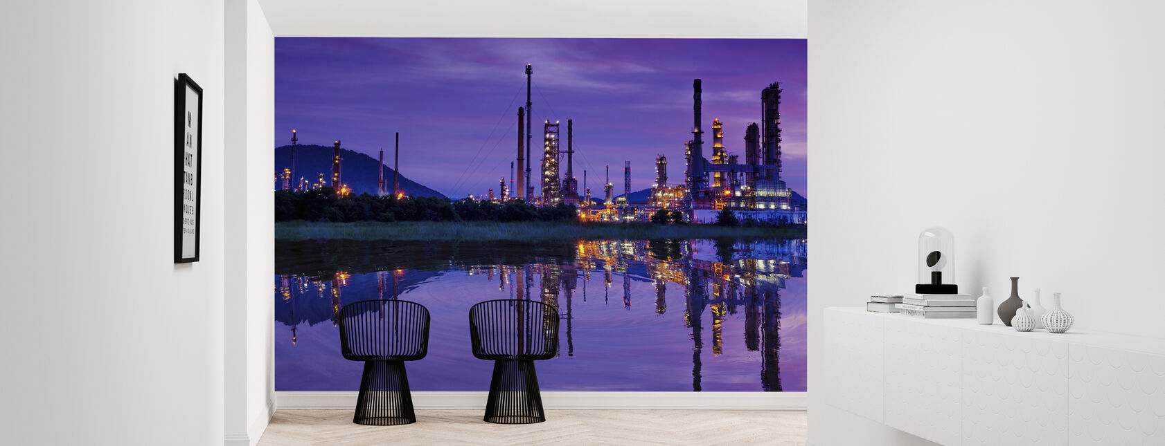 Petrochemical Industry - Wallpaper - Hallway
