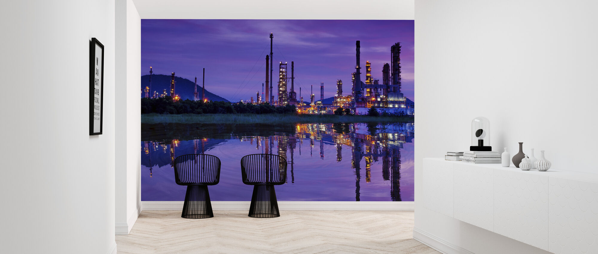 Petrochemical Industry - Wallpaper - Hallway
