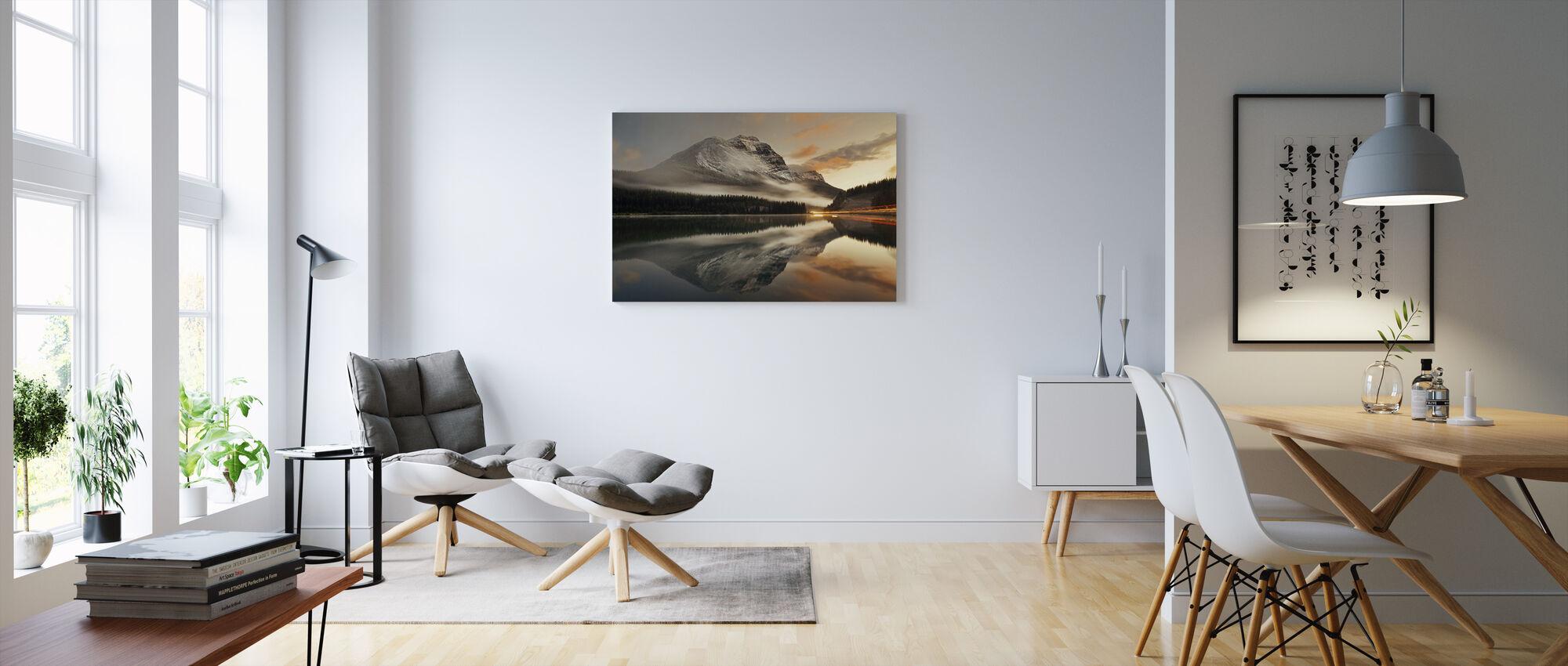 Banff National Park, Canada - Canvas print - Woonkamer