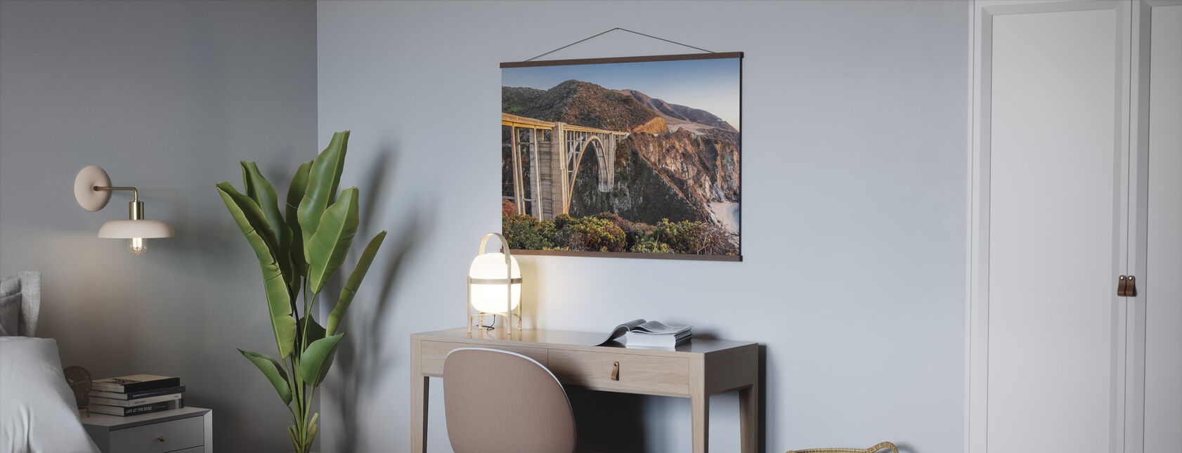 Bixby Bridge Solnedgång - Poster - Kontor