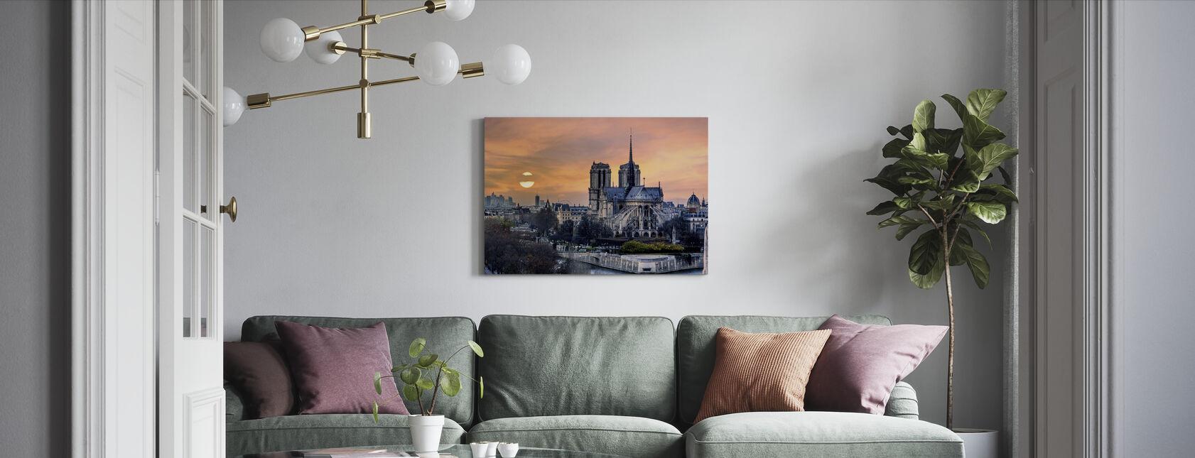 Gothic Paris - Lerretsbilde - Stue